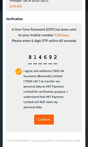 Instant Withdrawal   FWD Financial